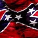 Rebel Flag w/ Rock - Car Window Perf