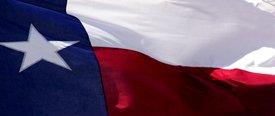 Texas Flag 1 - Car Window Perf