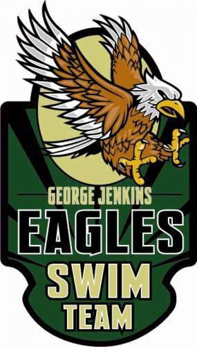 Swim Team Decal - George Jenkins High School