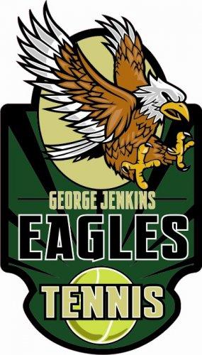Tennis Decal - George Jenkins High School