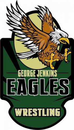 Wrestling Decal - George Jenkins High School