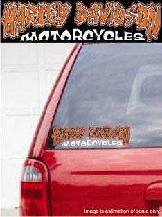 Harley Davidson Custom - Decal