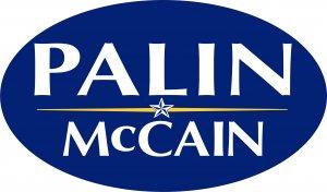 Palin McCain Ovall Bumper Sticker