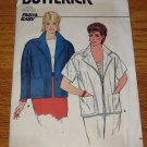 UNCUT Vintage Butterick Jacket Long & Short Sleeve 4985