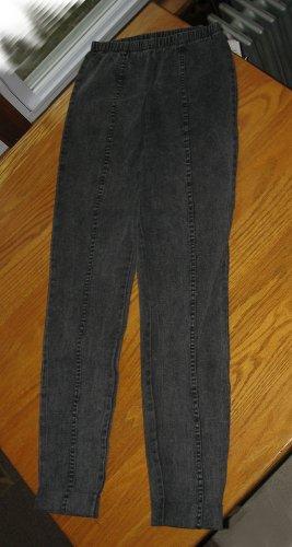 NWT Pair Denim Leggings Black Gravel Size Medium