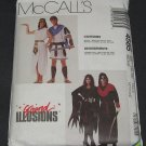 McCalls 4585 Pattern Mark Anthony, Cleopatra, Allura, Skulltar