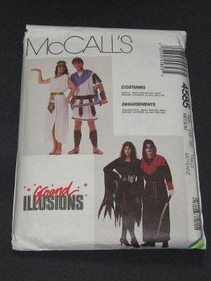McCalls 4585 Pattern Mark Anthony, Cleopatra, Allura, Skulltar