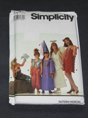 Simplicity 7547 Pattern Mermaid, Genie, Princess, Angel, Flapper