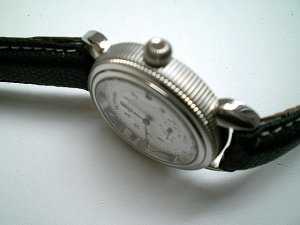 Faconnable Balancier Swiss Automatic with SS Case and Leather Strap
