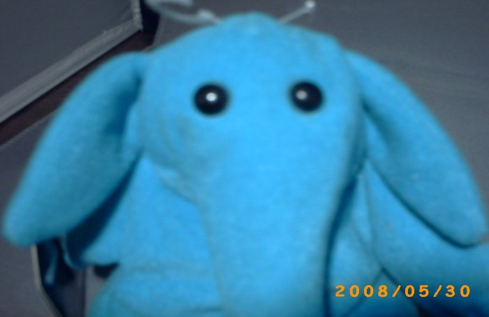 Star Wars Beanie Baby Max Rebo ROTJ Return Of The Jedi Plush Buddy