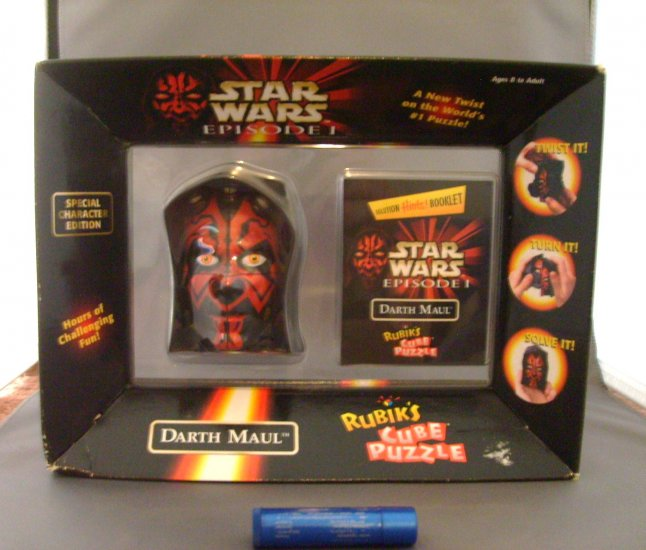 Star Wars The Phantom Menace Darth Maul Rubiks Cube Puzzle