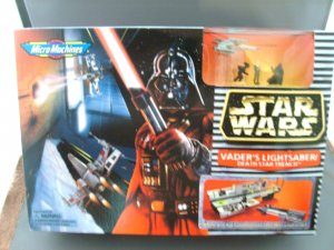 Star Wars Vaders Lightsaber Death Star Trench Playset