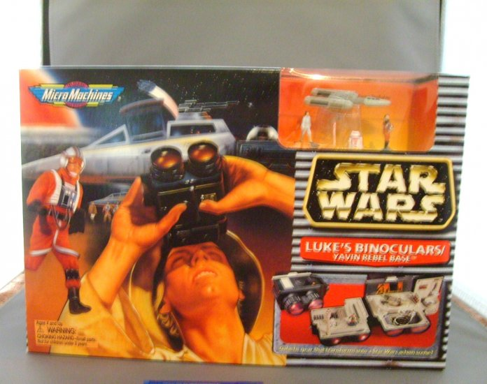 Star Wars Lukes Binoculars Yavin Rebel Base Mini Playset