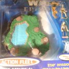 Star Wars EP1 The Phantom Menace Stap Invasion Mini Scenes #1 Action Fleet