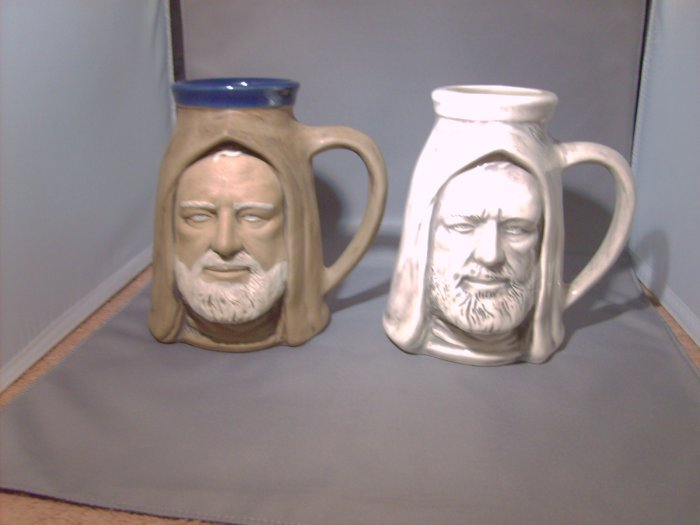 Star Wars White Obi Wan Kenobi Rumph Copy Ceramic Mug