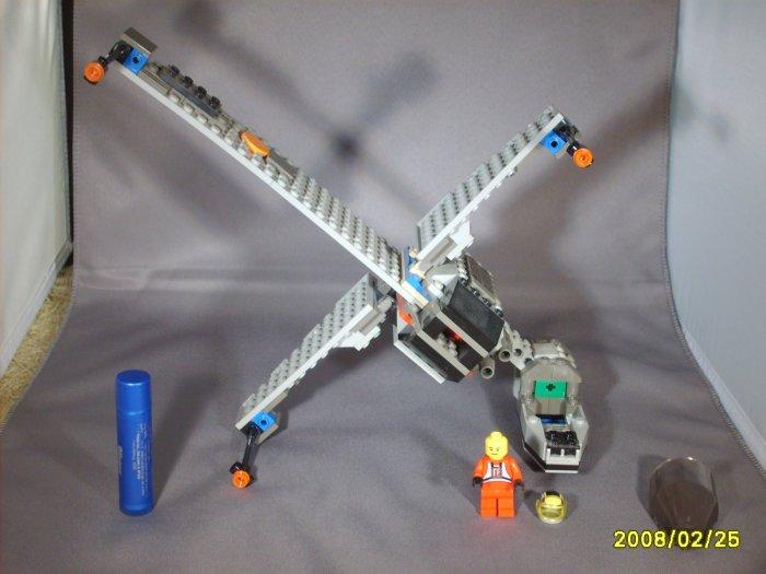 Star Wars B Wing & Pilot Lego Legos set