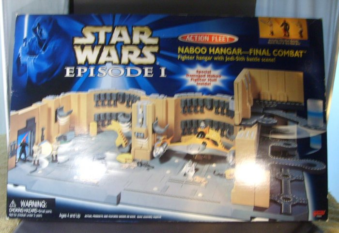 Star Wars Naboo Hangar Final Combat Micro Machines Playset BIG
