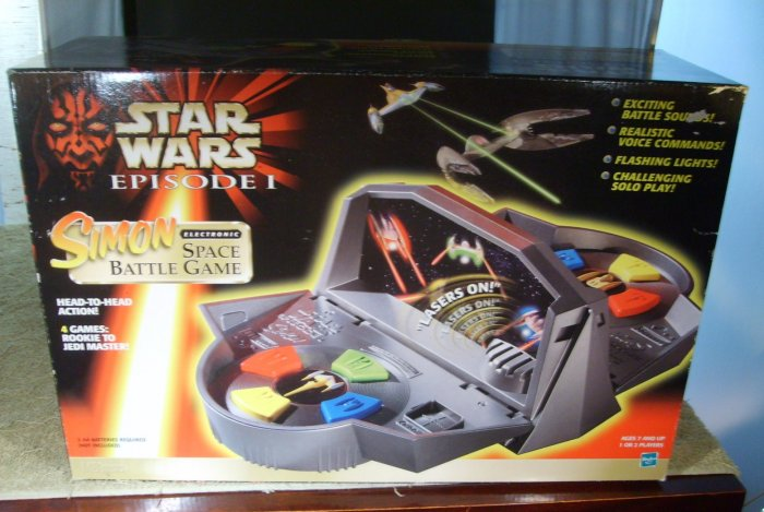 Star Wars Talking Simon Space Battle Game 4 in 1