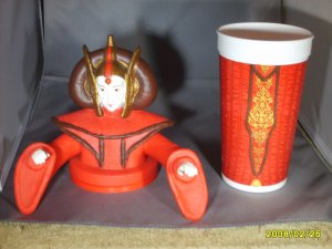 Star Wars Ep1 Queen Amidala Pepsi Cup Topper