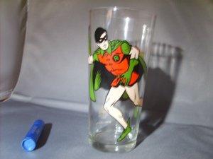 Robin from Batman 1978 DC comics Pepsi Collector Series Glass