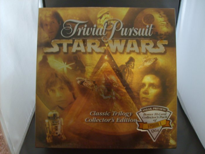 Star Wars Classic Trilogy Collectors Edition Trivial Pursuit & Bonus MIB