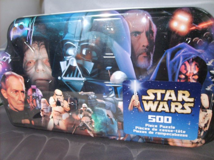 Star Wars 500 Piece Villains Hasbro Puzzle Collect All 4