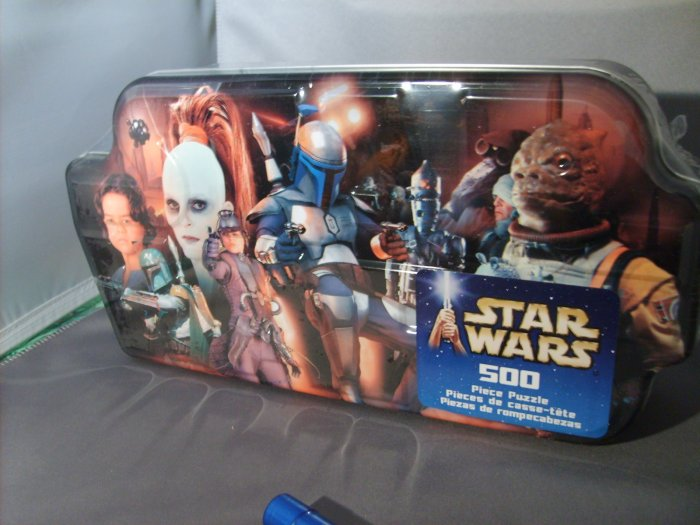Star Wars 500 Piece Bounty Hunters Hasbro Puzzle Collect All 4
