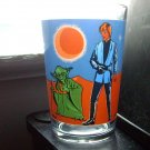Star Wars Yoda and Luke Luc Vintage France Glass Very Hard to Find
