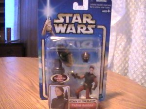 Star Wars AOTC 3 3/4 inch Padme Amidala Original Text Rare Figure See Others!