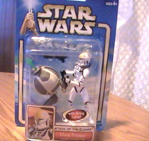 Star Wars AOTC 3 3/4 inch Clone Trooper Figure See Others!
