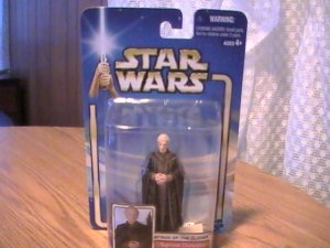 Star Wars AOTC 3 3/4 inch Supreme Chancellor Palpatine Figure See Others!