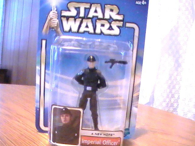 Star Wars A New Hope 3 3/4 inch Imperial Officer Blonde Hair Variant Figure See Others!