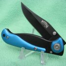 "Pinto Pony Blue Lockblade 3 1/2 "" Tactical Collectible Collector Pocket Knife"
