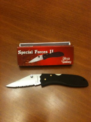 "Special Forces 2 Locking 3 "" Closed Tactical Collectible Collector Knife"
