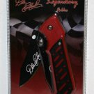 Dale Earnhardt 8 Legendary 4 1/2 Inch Closed Tactical Folder Collectible Collector Knife