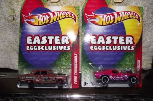 Hotwheels Hot wheels Easter Eggsclusives 1:64 Ford Thunderbolt Car 2011