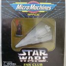 Star Wars Fan Club Micro Machines Star Destroyer & Vader Figure