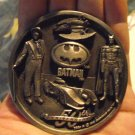 Batman 50TH Anniversary Pewter Medallion 1989 Coin V RARE