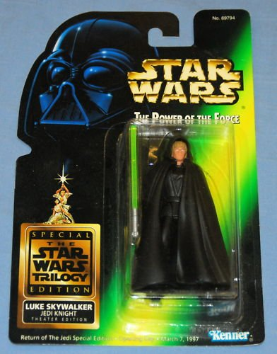 Star Wars Rare Luke Skywalker Theatre Theater Edition POTF POTF2 ROTJ Special Figure 3 3/4 inch