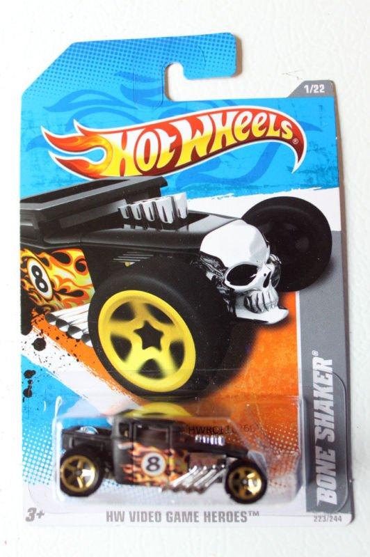 Hotwheels Hot wheels 2011 Bone Shaker Video Game Heroes Can ship 1st class 2!