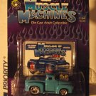 Muscle Machines 56 1956 Light Blue Hotrod Ford Pickup Truck Sweet Color! Cool