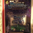 Muscle Machines 40 1940 Green Machine Willys Willy Hotrod Truck Die Cast Cool!