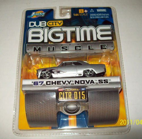 Jada Dub City BigTime Muscle 1967 Chevy Nova SS Die Cast Car