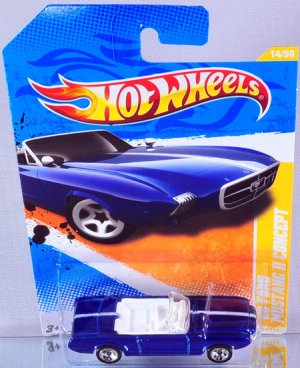 Hotwheels Hot wheels Mustang GTO Concept Die Cast Car! Will Also Ship 1st Class