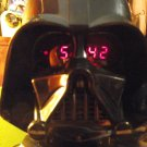 Star Wars Darth Vader Clock Radio MP3 IPod Cd Player Jack Movie Sounds VHTF NIB