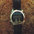 Star Wars R2D2 C3PO LCD 3 Button Vintage Bradley ROTJ Stop Watch/ Tested