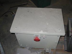 6 KVA 3 phase transformer 480VAC / 230VAC 3XUI