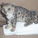 *~New Stone Critters Snow Mystery Snow Leopard figurine-FREE Ship!