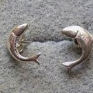 *~New Sterling silver Fishie earrings