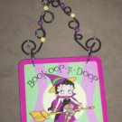 *~NIB Betty Boop Bewitching BOO Sign-Free Ship!